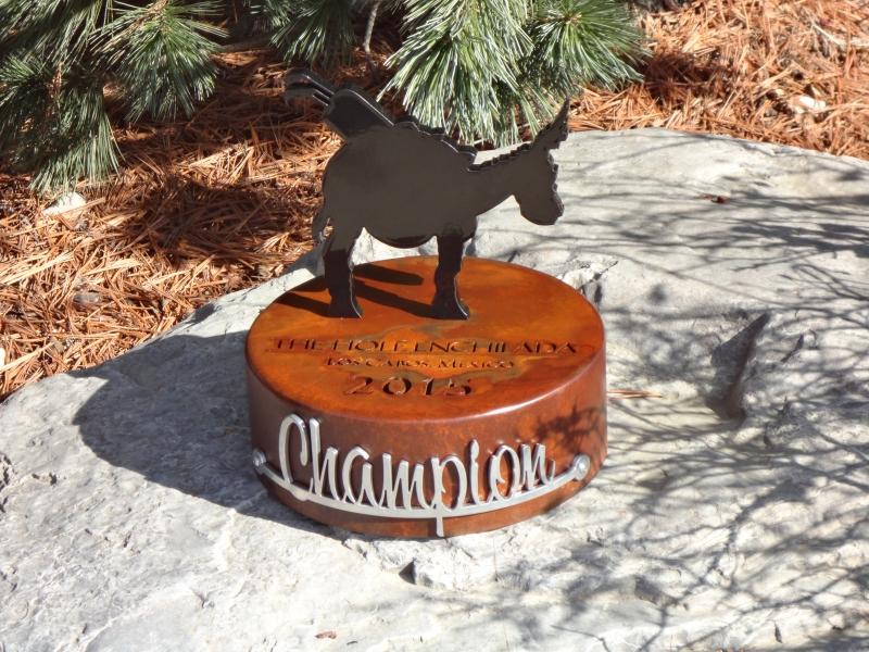 Hole Enchilada Custom Golf Trophy