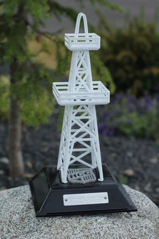 Oil Derrick Trophy -HillCrest