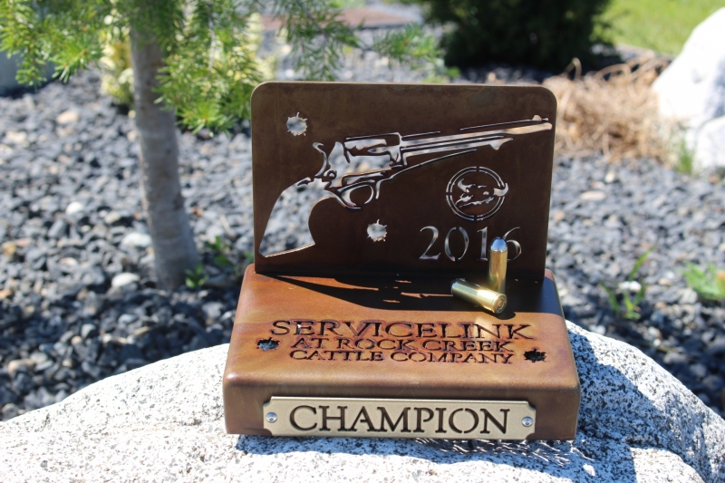 Shootout Trophies -Rock Creek Cattle Company