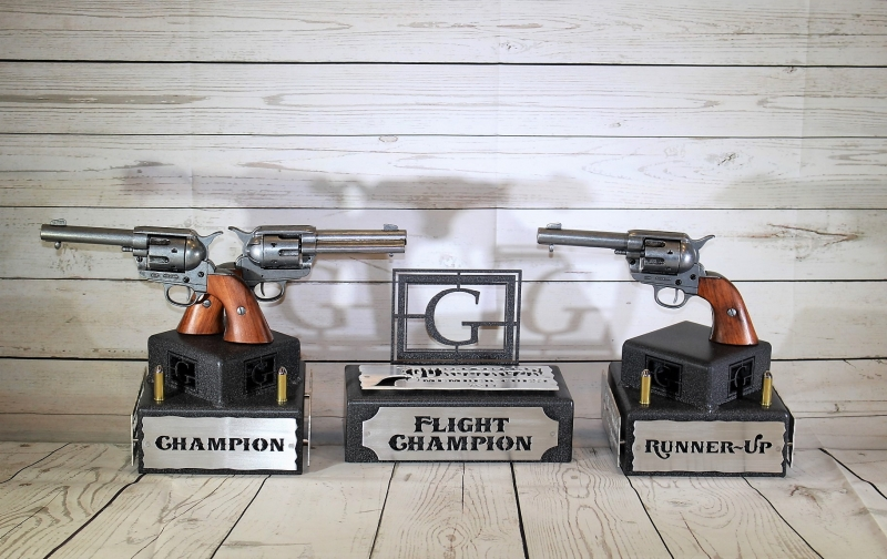 The Gallery Shooutout Trophies