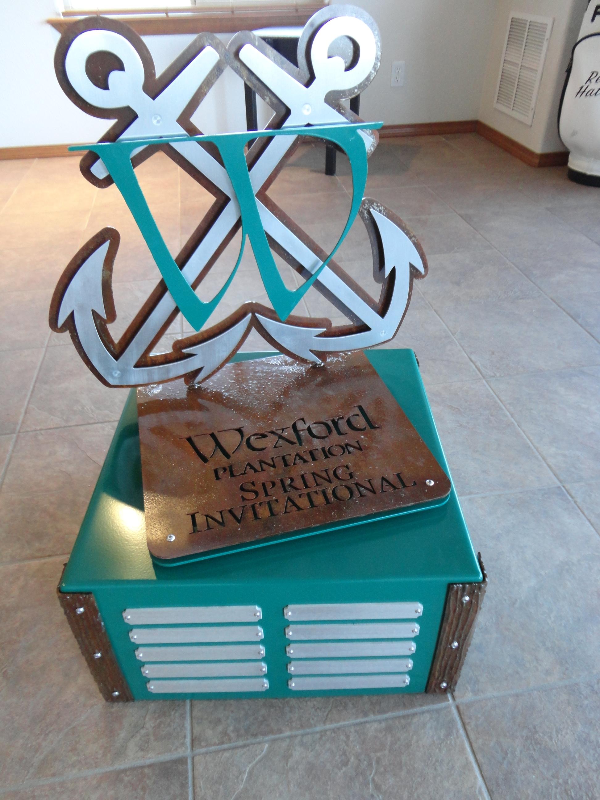 WEXFORD -Custom Perpetual Trophy