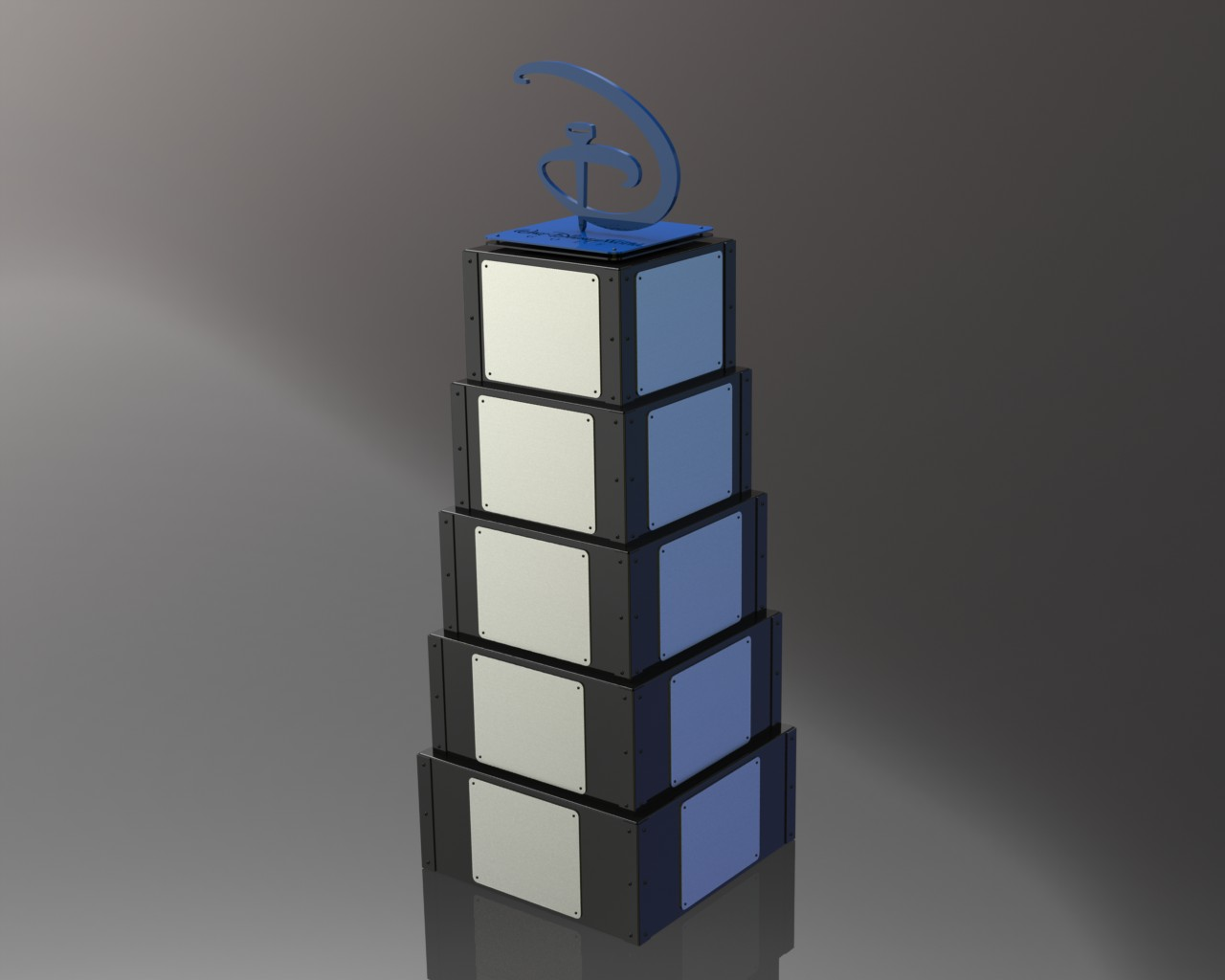 Custom Perpetual Trophy -Disney