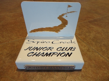 SQUIRE CREEK -Junior Club Champion Trophy