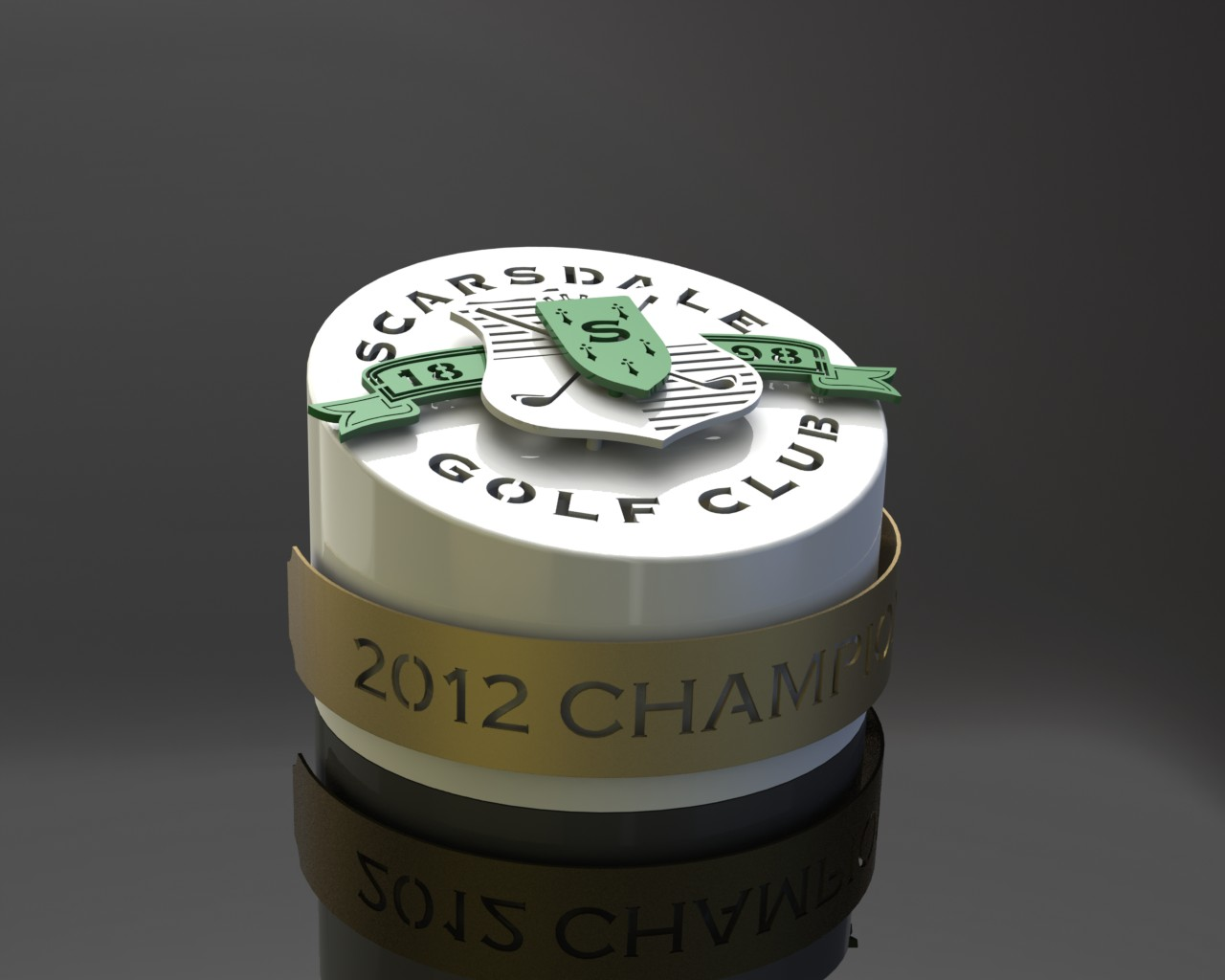 Scarsdale Golf Tournament Trophy