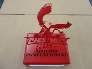 Custom Golf Tournament Trophy