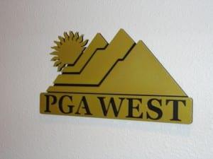 PGA West Podium Logo Signs