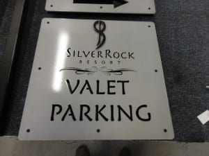 More custom signs for Silver Rock Resort
