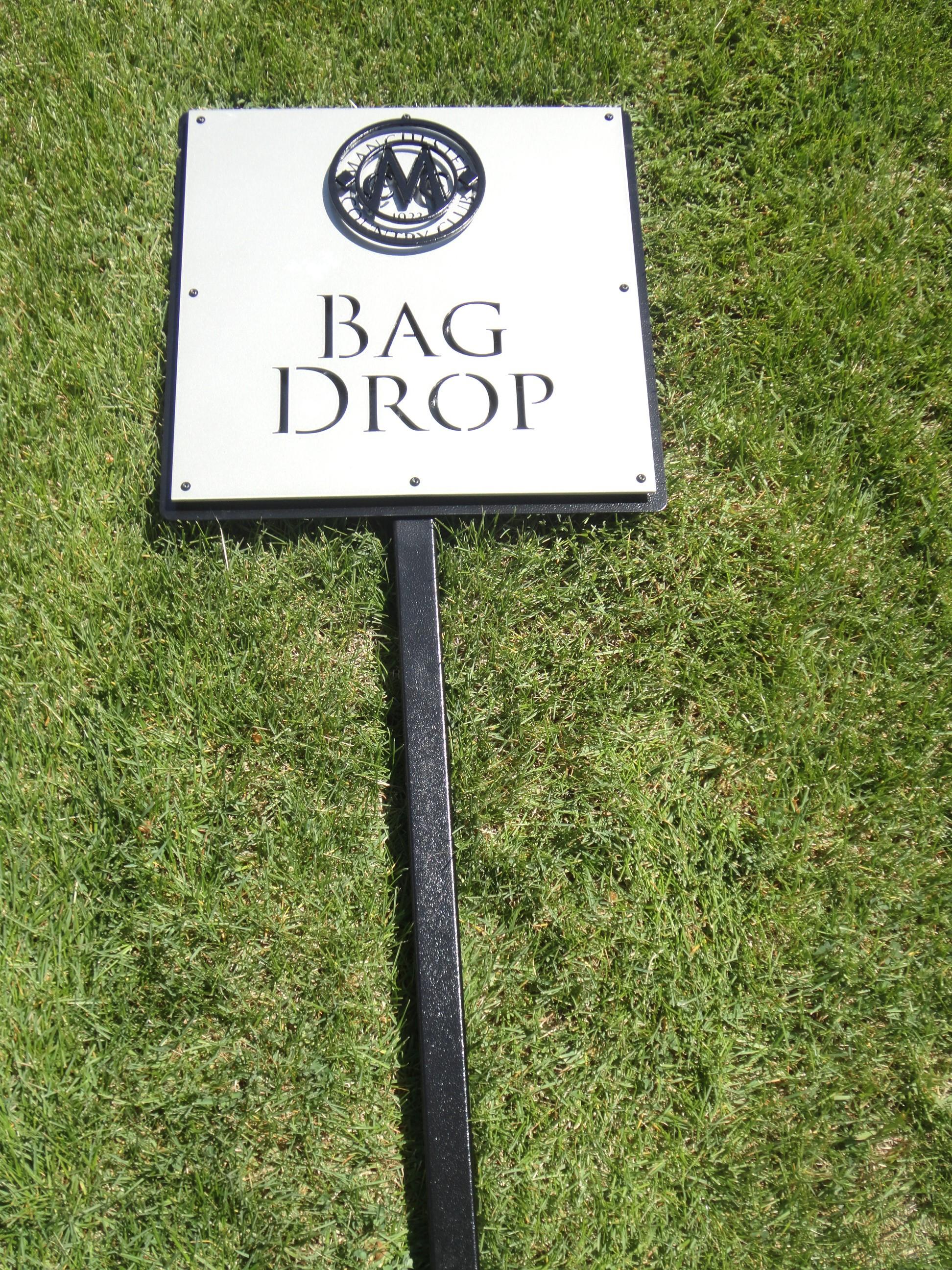 Custom Golf Course Signage Rhi Golf