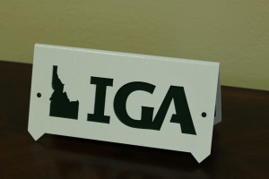 A-Frame Tee Markers -IGA