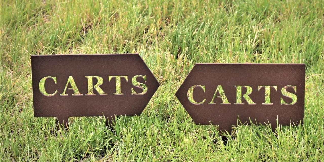 BLOG: Cart Signage