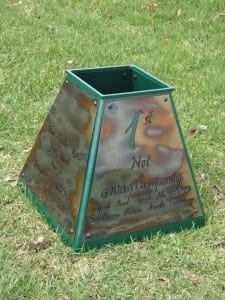 Custom Golf Trophy -GWAA