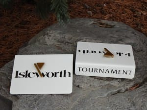 Custom Tournament Tee Marker -Isleworth