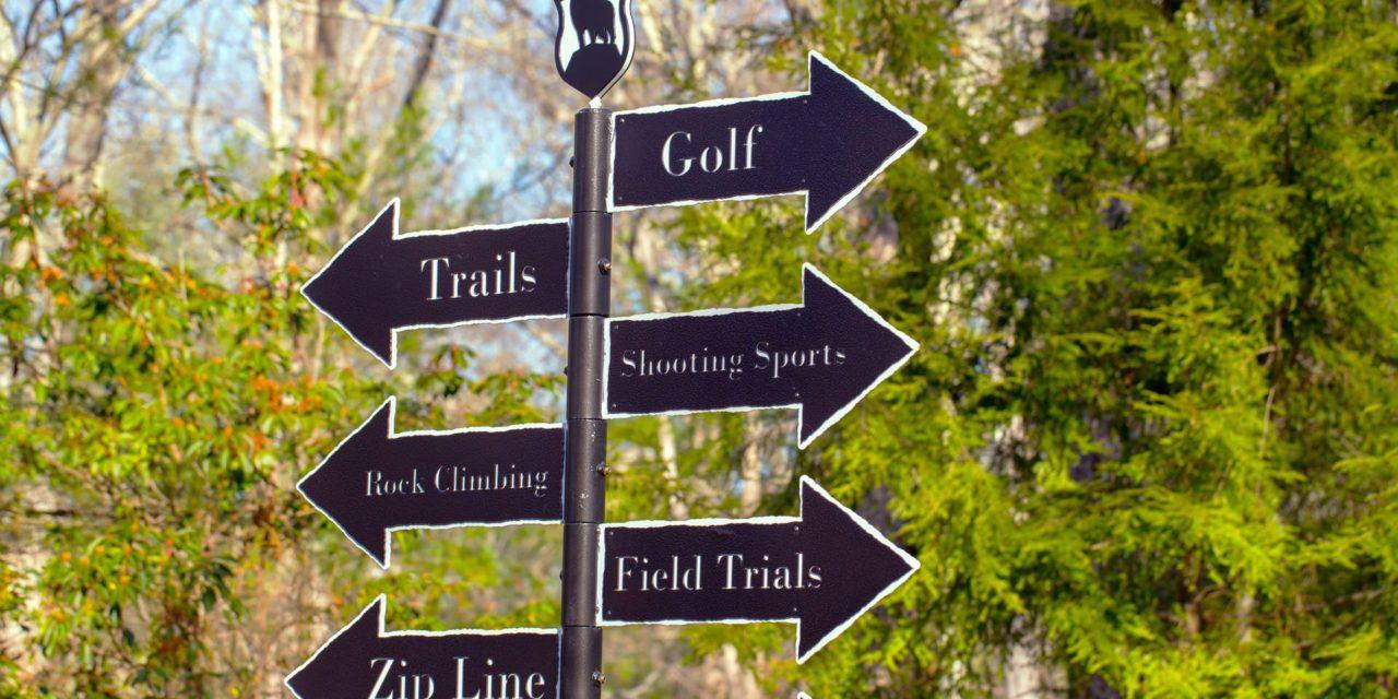 Golf Course Sign Ideas