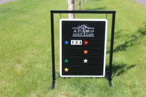Driving Range Signs -Alamo GC