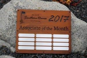 Employee Appreciation Plaque -Southern Dunes