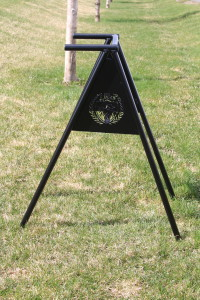 Golf Course Bag Stands -The Links