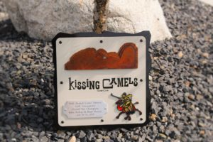 Golf Tournament Plaques -Kissing Camels