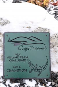 Golf Tournament Plaques -Osage National