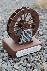 Golf Tournament Trophies -Bright's Creek water wheel (2)