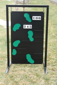 Hanging Range Layout Sign -Blue Jack National