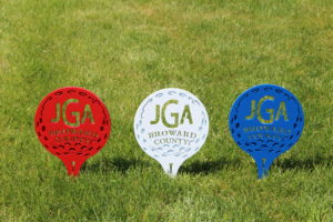 Junior Golf Tee Markers -Broward County