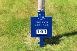 Par 3 Signs -White Beeches