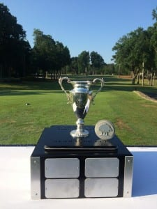 Perpetual Golf Champion Trophy -Almaden