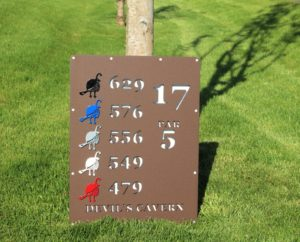 Tee Monument Signs -Troon CC