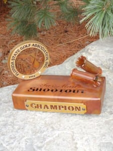 Two-Man Shootout Trophy -FSGA